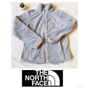 North Face | Breast Cancer Zip-up Fleece Jacket